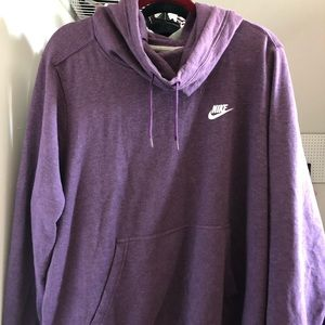 Nike Cowl Neck Hoodie size 2X